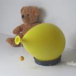 Small yves christin balloon lamp