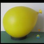 Yves Christin for Bilumen balloon lamp