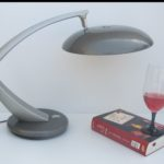 Fase Boomerang Madrid Spain Vintage Retro desk table lamp