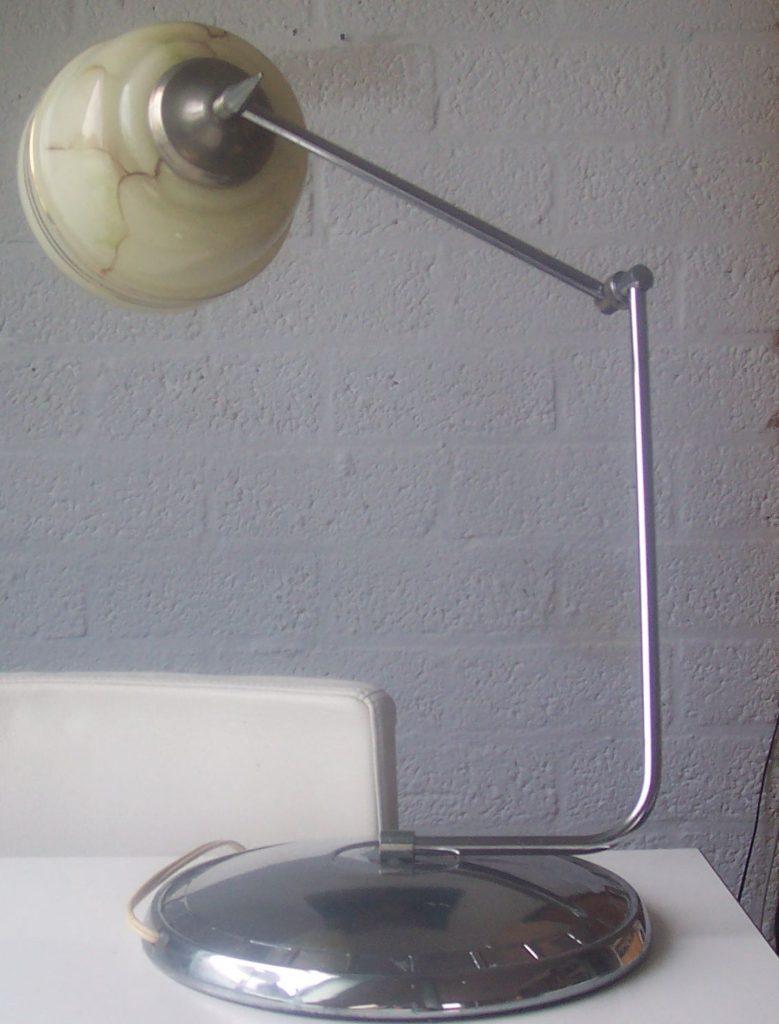 art deco nouveau lamp