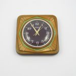 blessing ceramic clock west germany