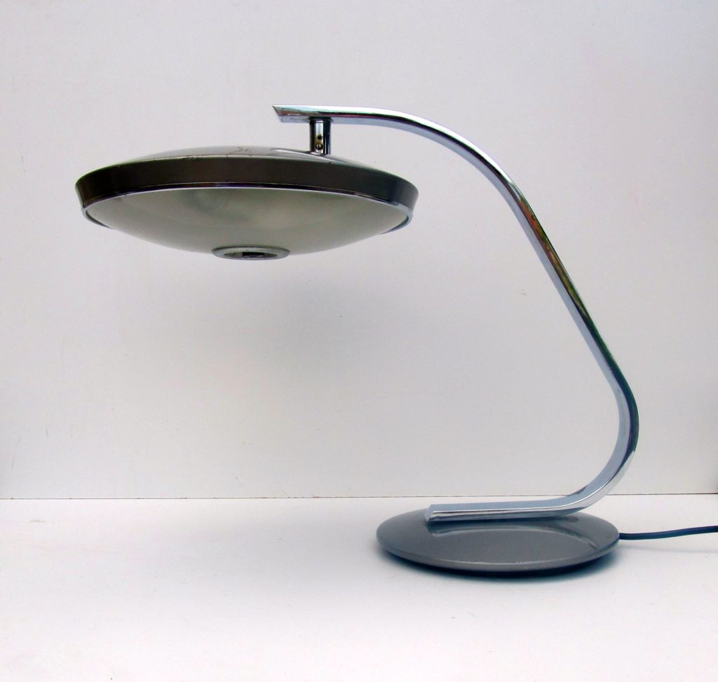 Fase Lamp Madrid space age Table or Desk Lamp, Spanish mid-century modernist lamp from the 1970s
