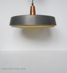 mid century modern hanging light