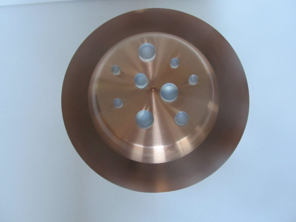 Raak amsterdam design ceiling light can also be used as pendant lamp 1960s