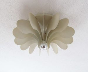 Raak Bolide ceiling or wall light by Hermian Sneyders de Vogel for Raak Amsterdam 1971