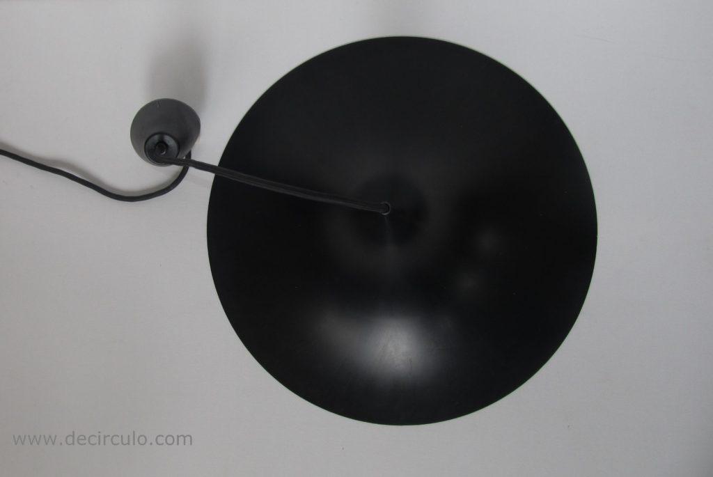 SEMI hanging light black heksenhoed fog and morup