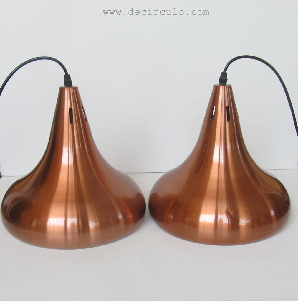 brass snookerlamp stilnovo