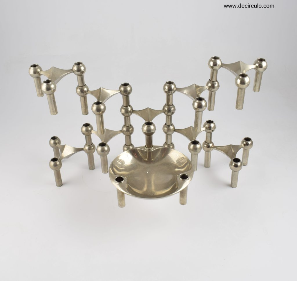 nagel s22 bowl candle holders