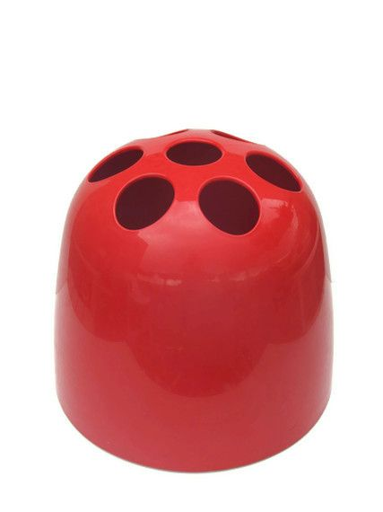 Dedalo Red Artemide Umbrella Stand 01