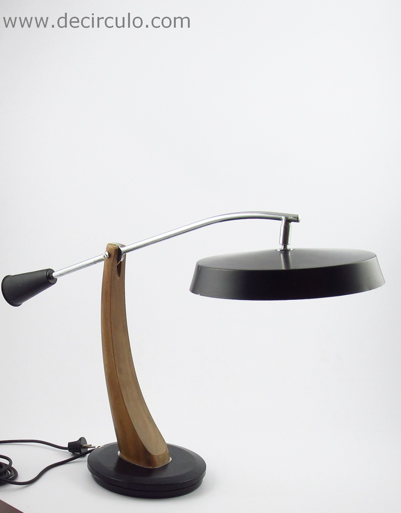 Fase President Table Light Black