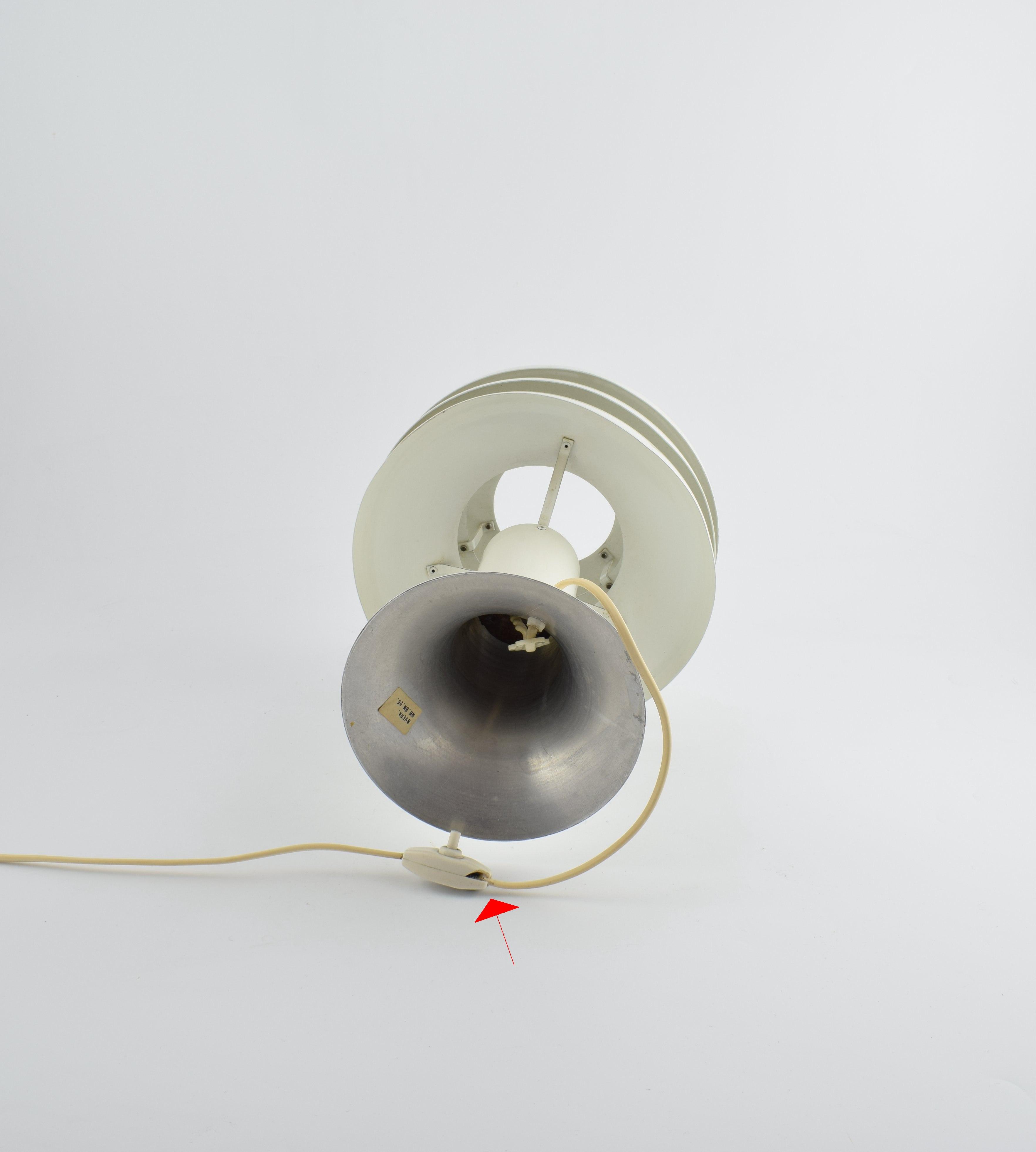 Hans Agne Jakobsson Svera White Table Lamp