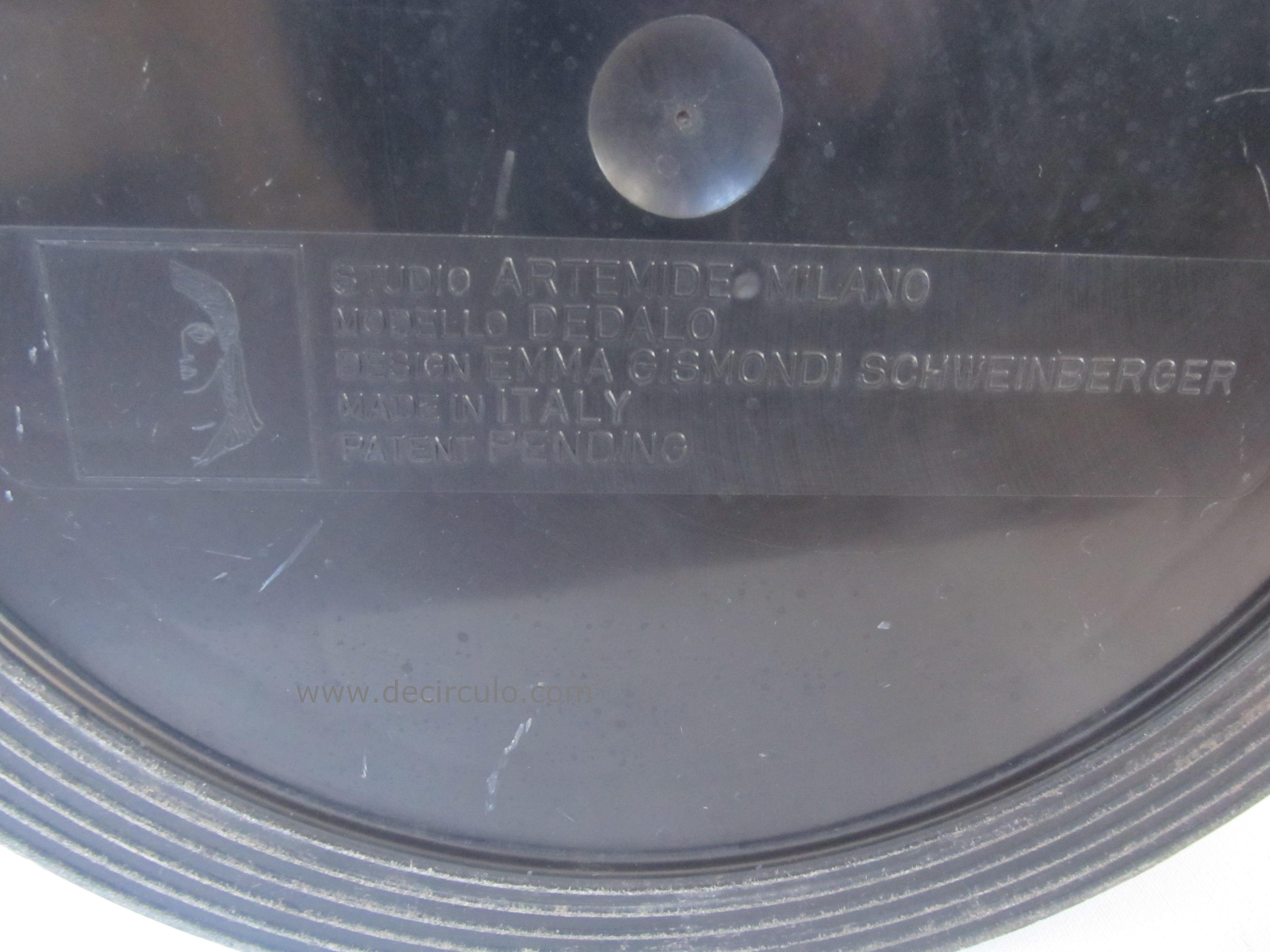 Logo Dedalo Emma Gismondi Schweinberger Artemide