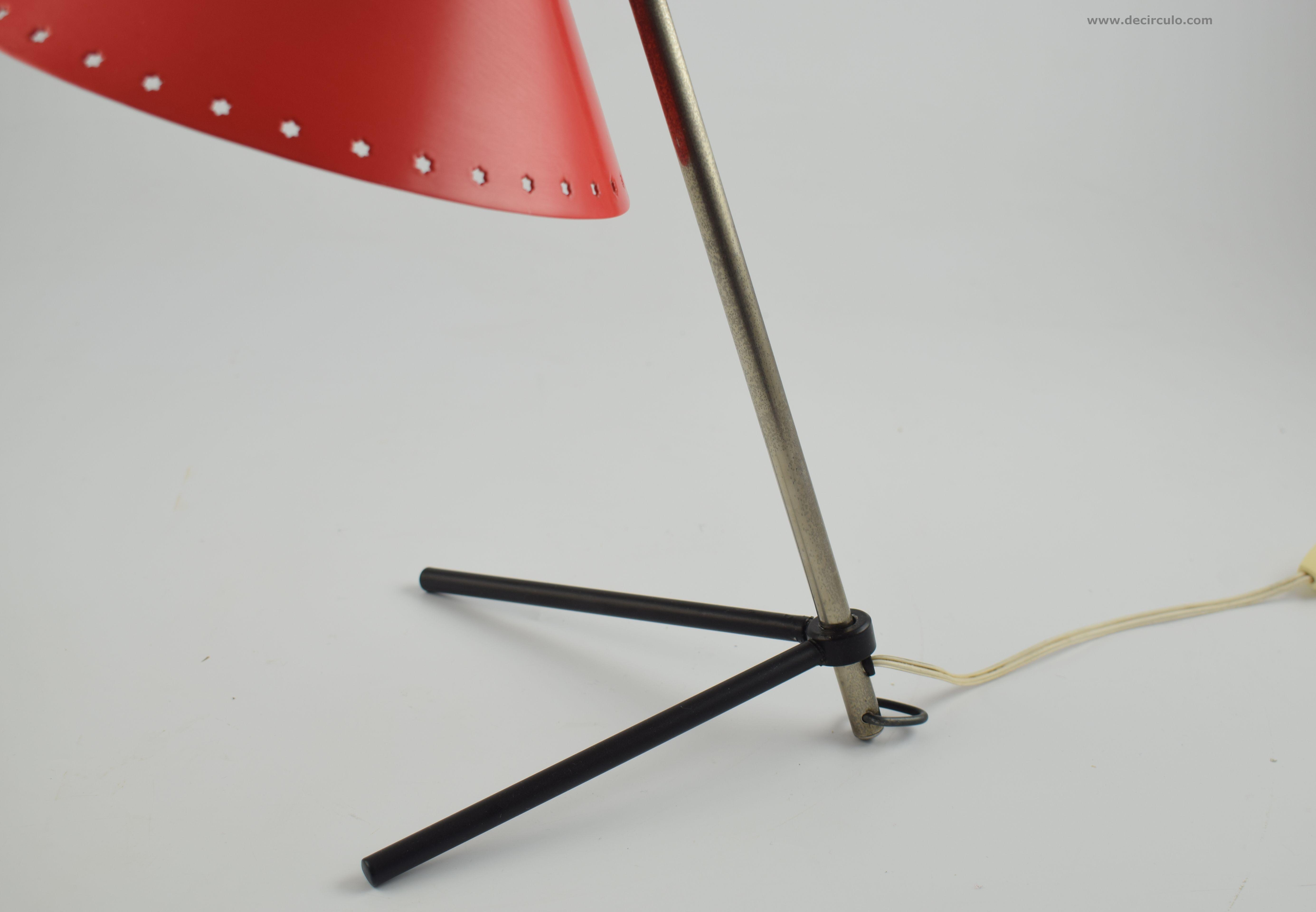 Pinocchio Lamp Red H.Busquet Hala
