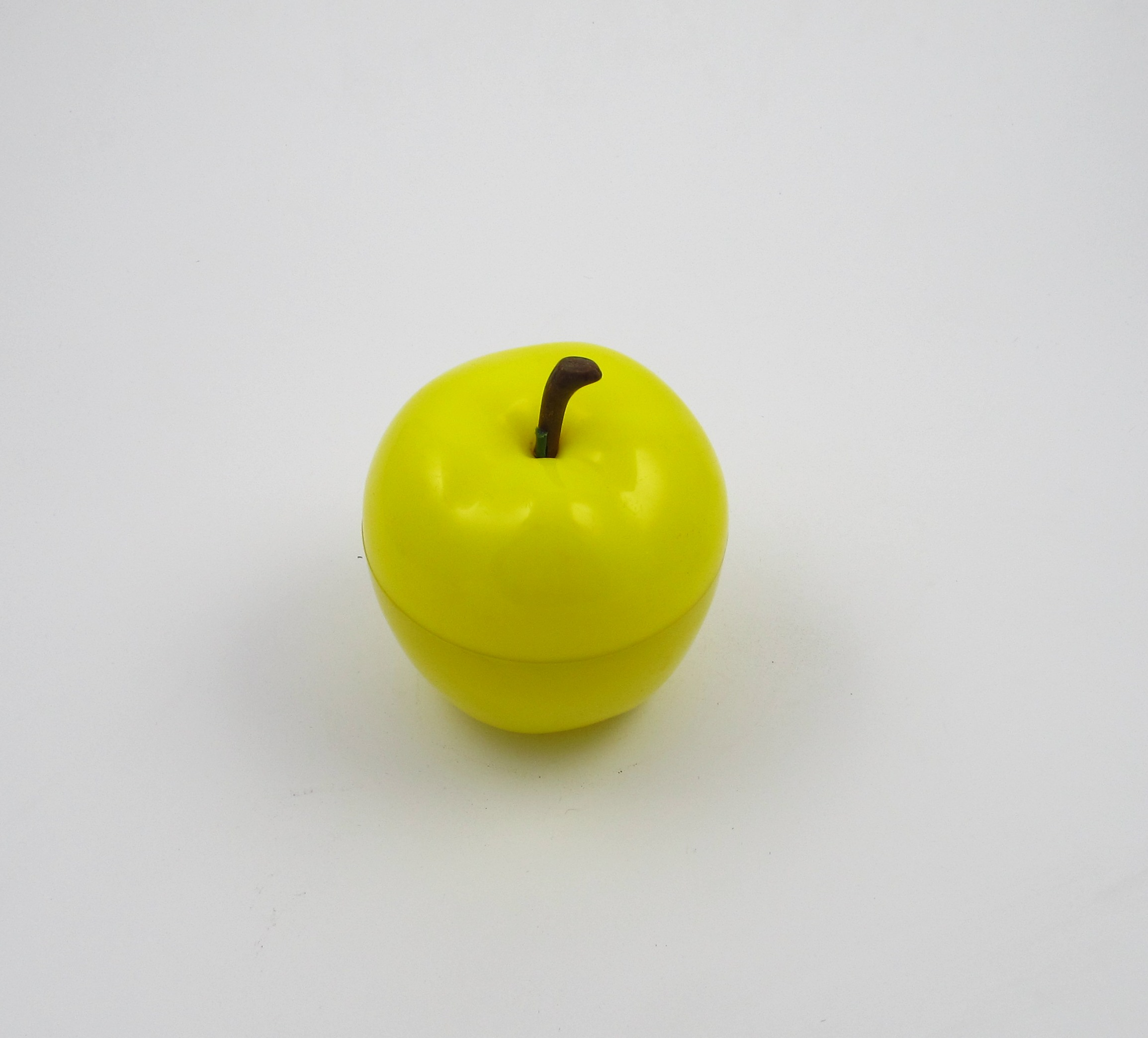 Apple Ice Bucket Plastic Green Yellow