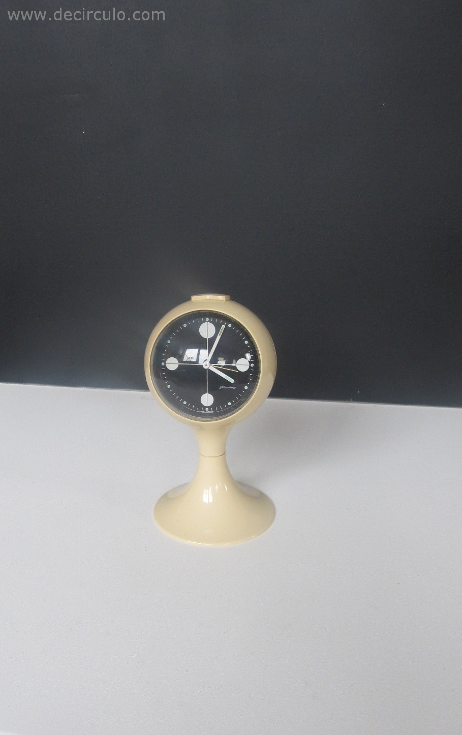 Black White Blessing West Germany Clock
