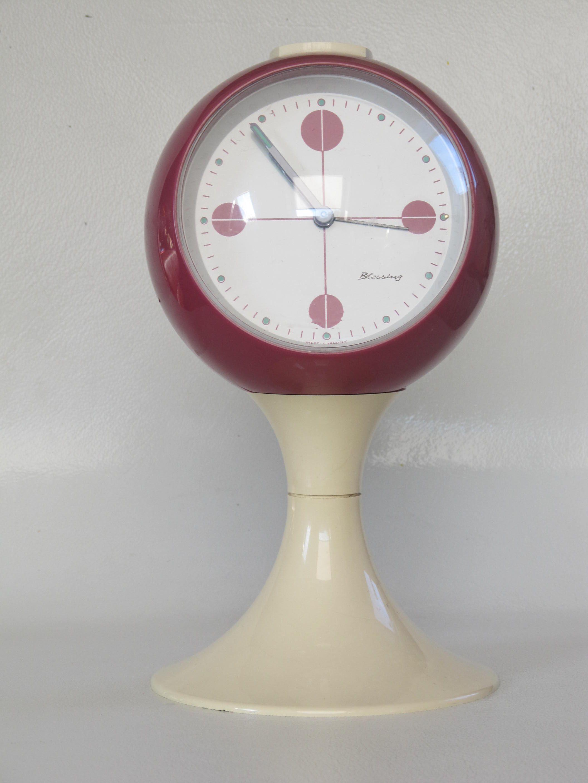 Blessing Alarm Clock Magenta