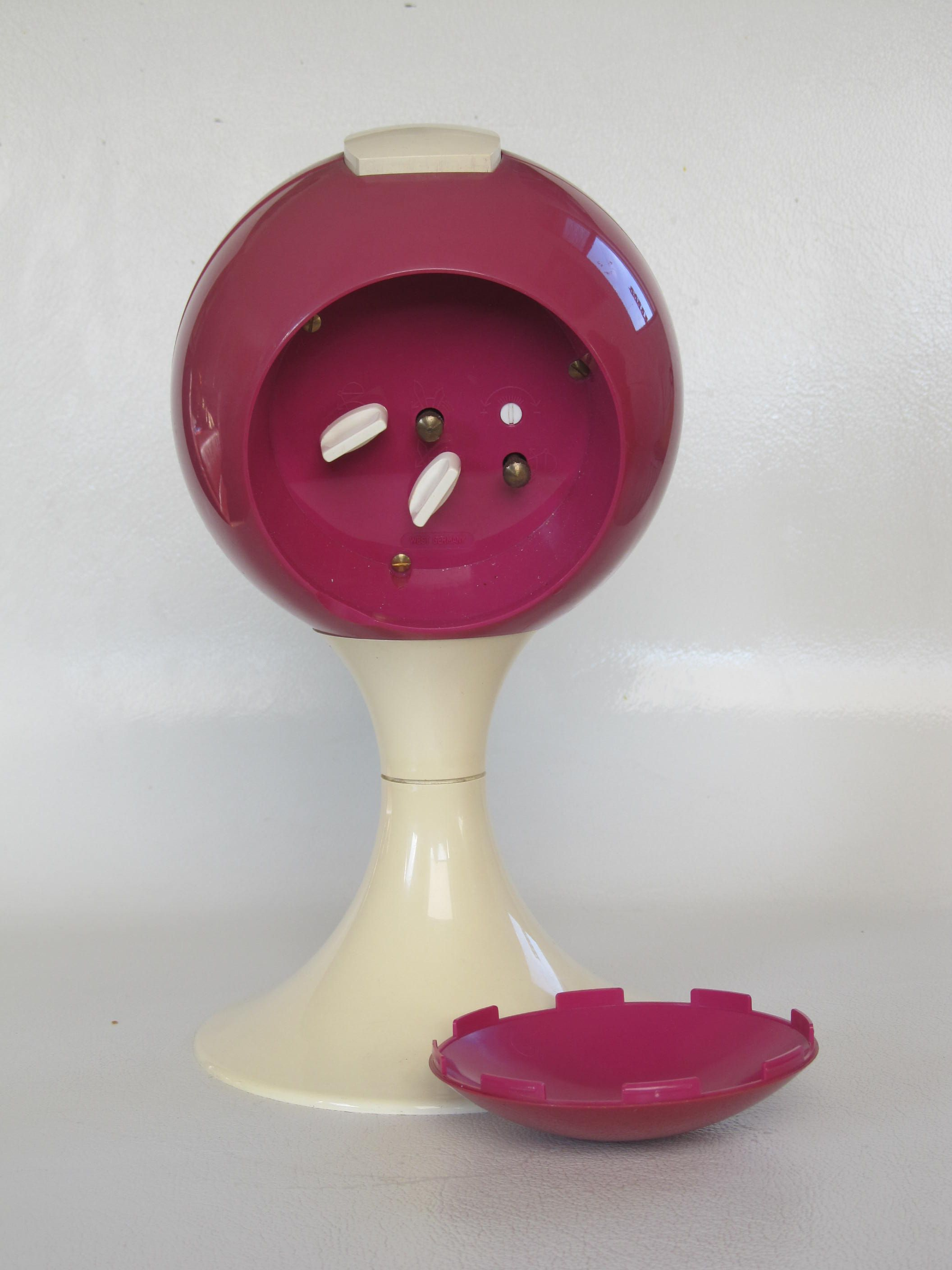 Blessing Alarm Clock Magenta White
