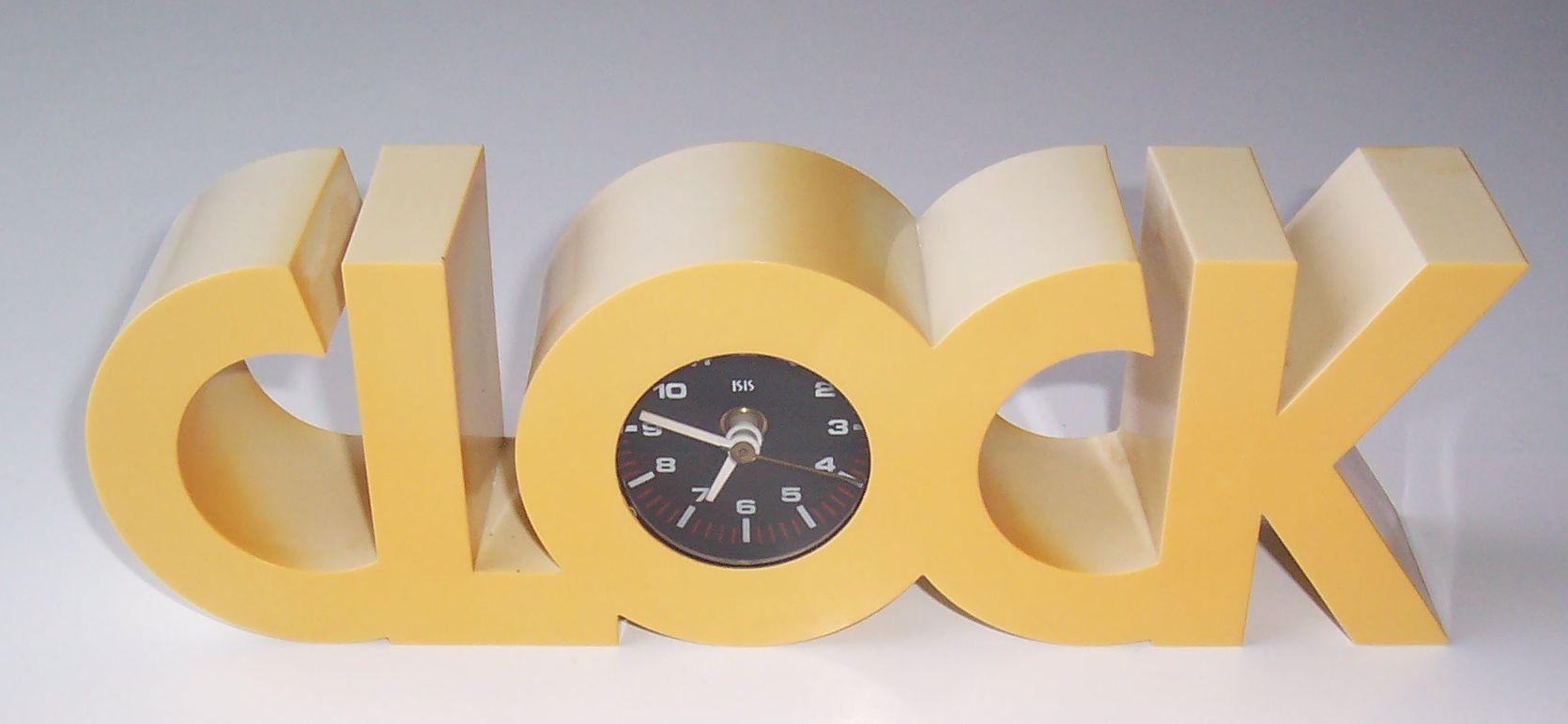 Clock Isis 01