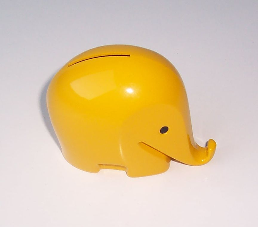 Colani Elephant Yellow 02