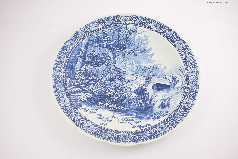Delfts Blue Plate