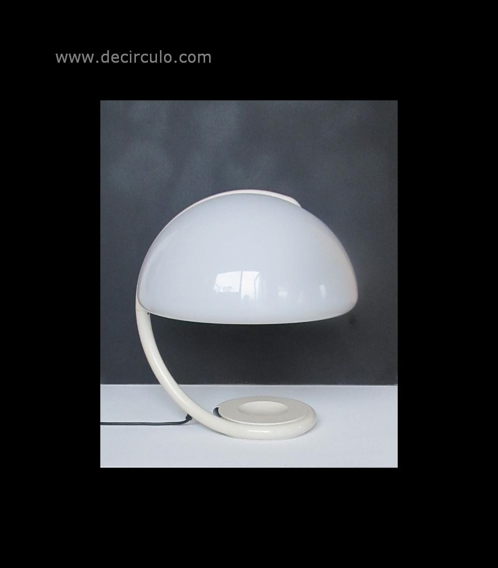 Elio Martinelli Serpente Tavolo No 599 Table Lamp