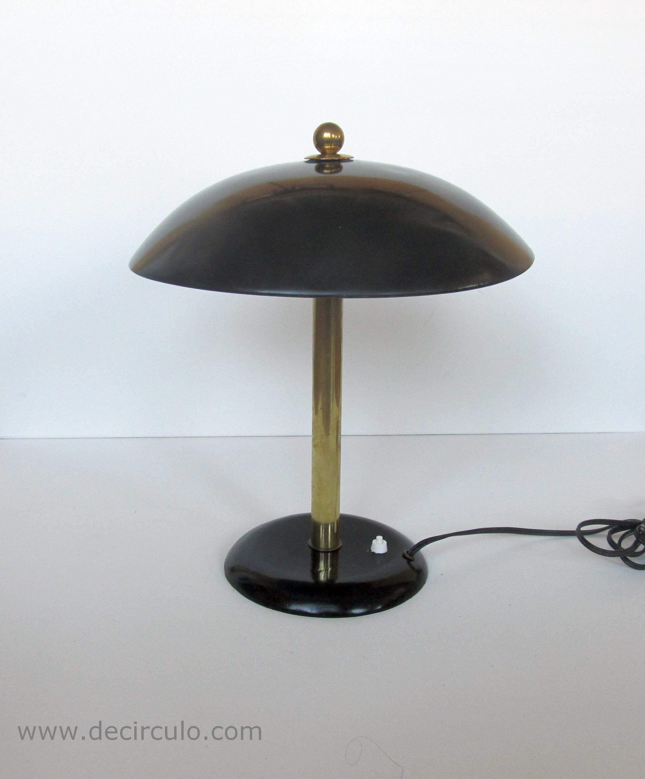 Gispen Daalderop Desk Lamp Black
