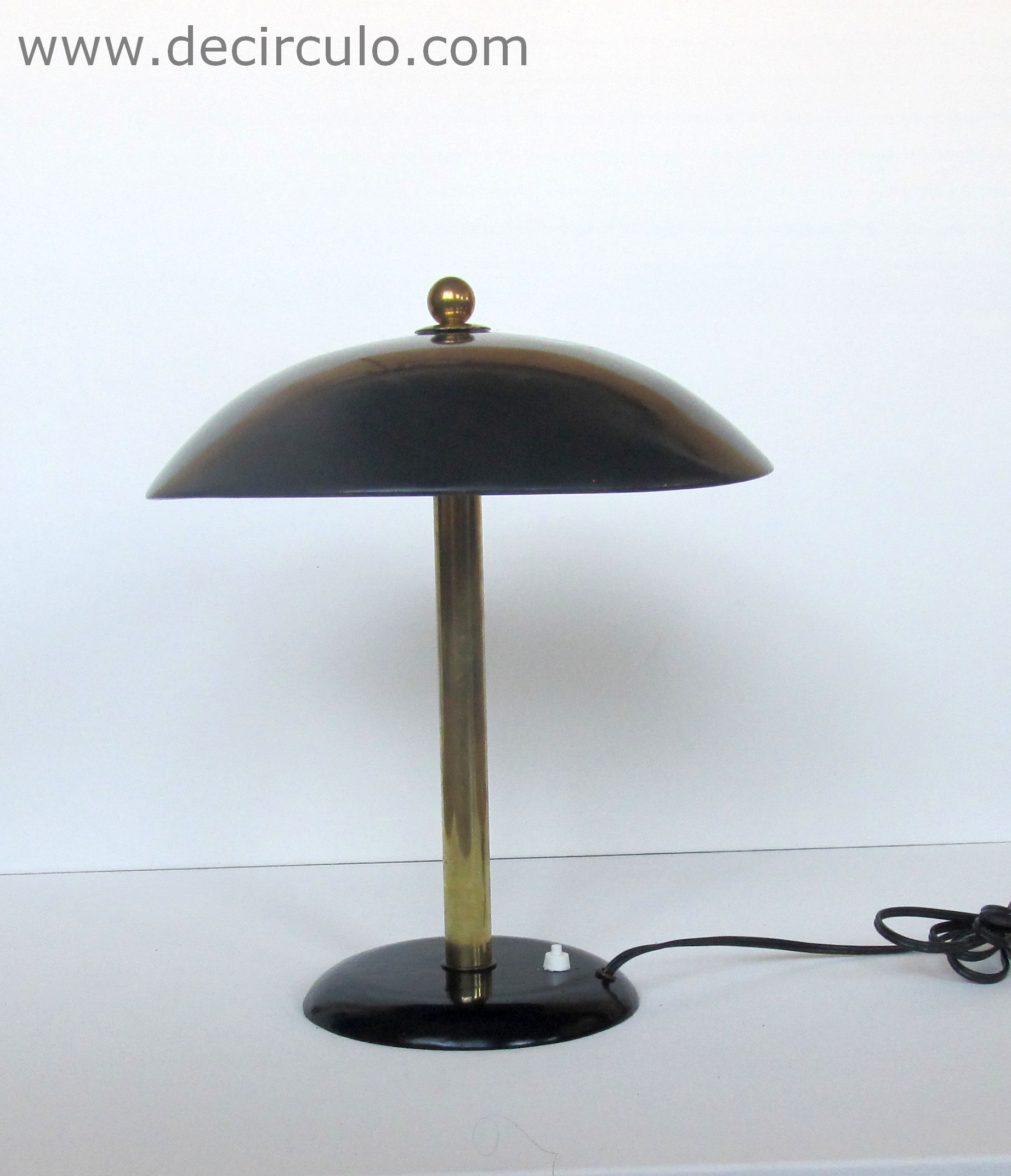 Gispen Daalderop Table Lamp Black