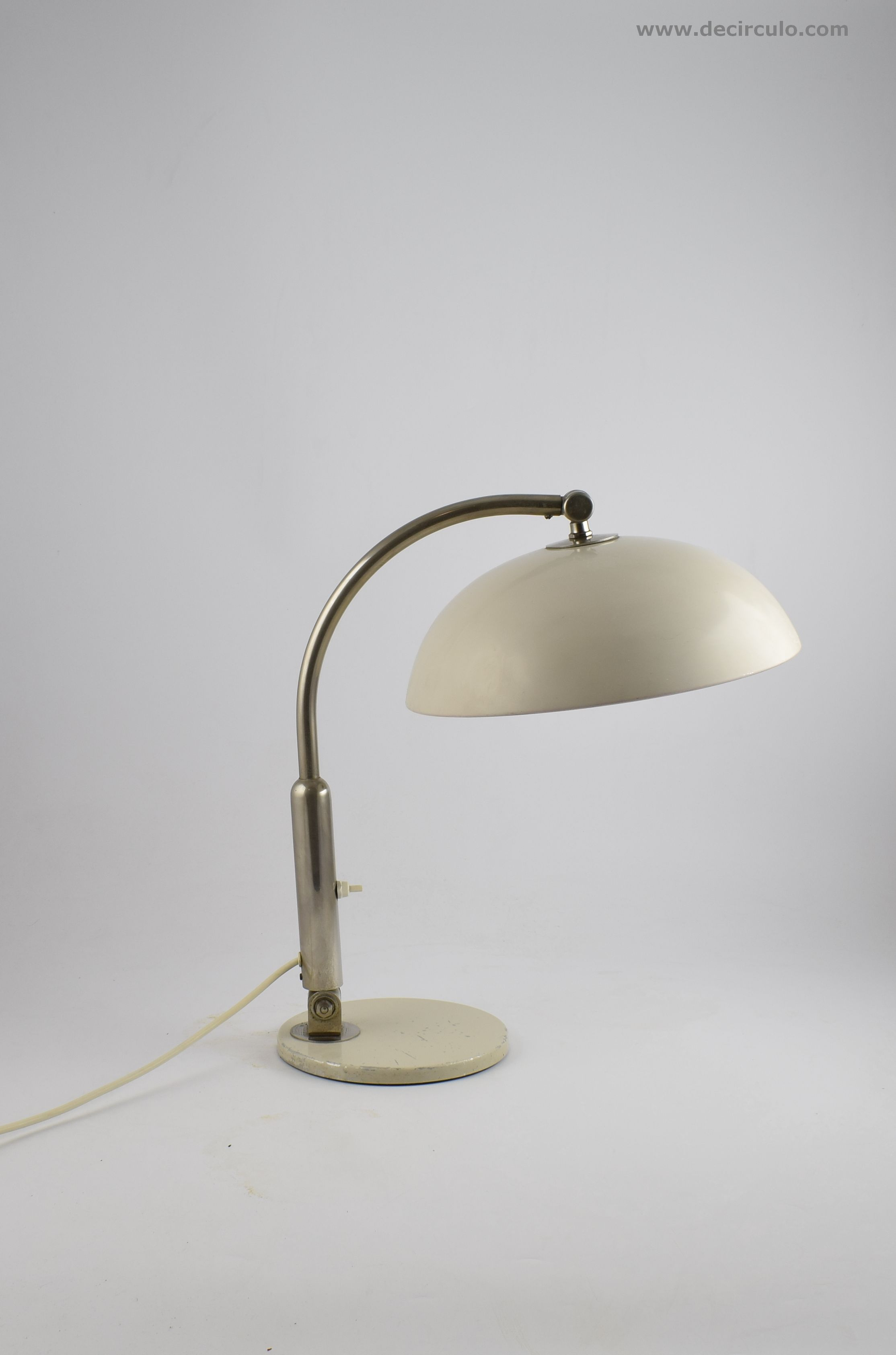 Hala Desklamp Model 144 White HA Busquet