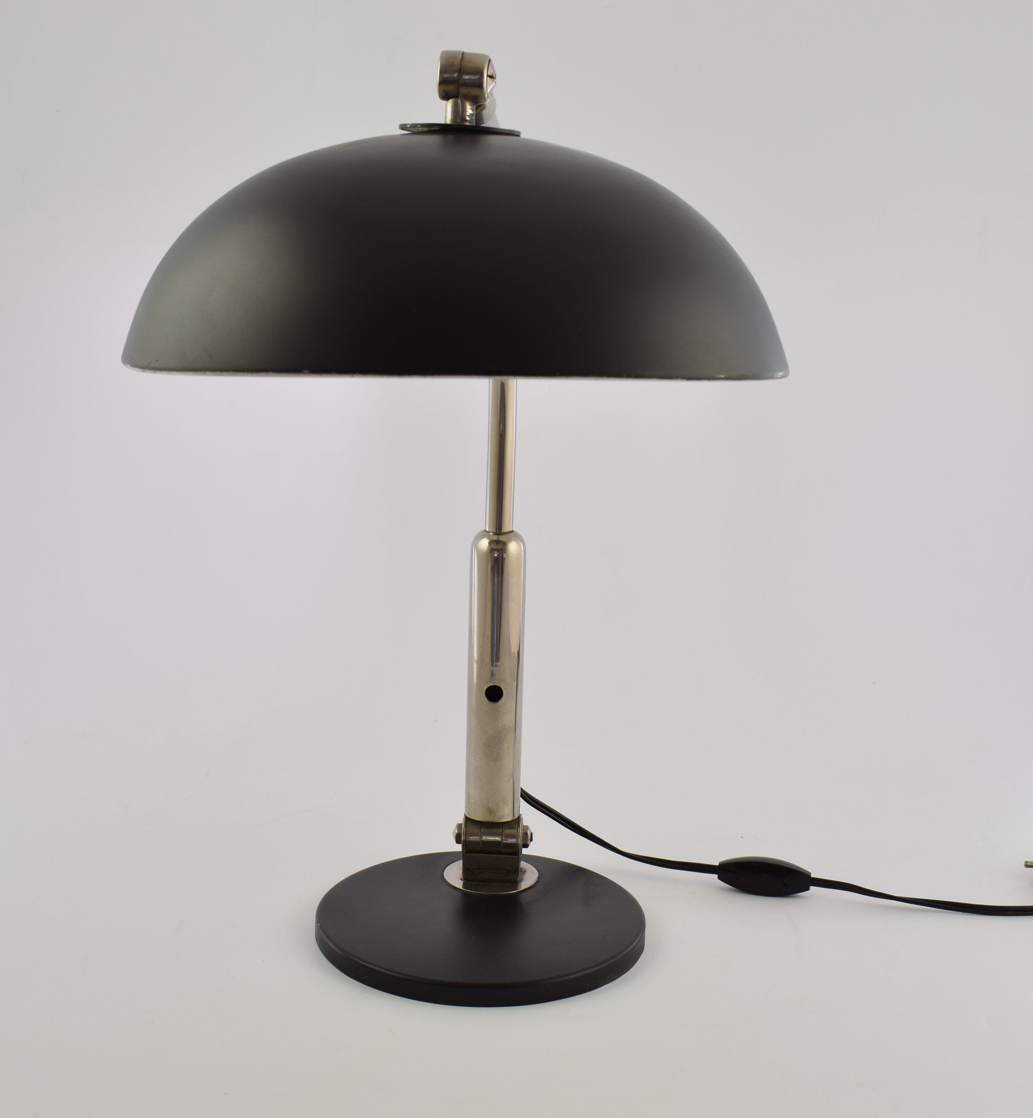 Hala Table Lamp Model 144 Black H A Busquet