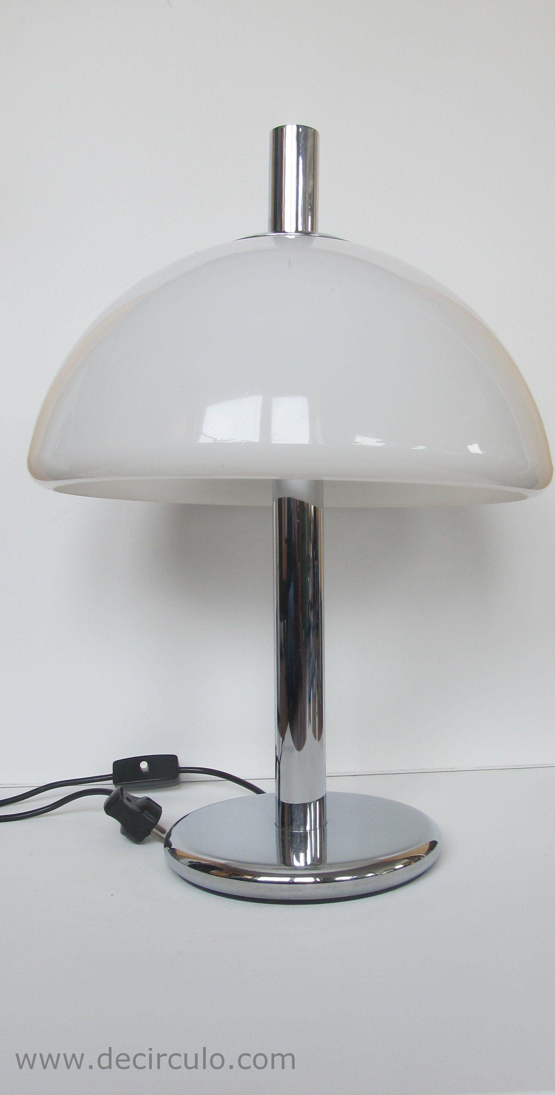 Hillebrand Bauhaus Table Lamp White