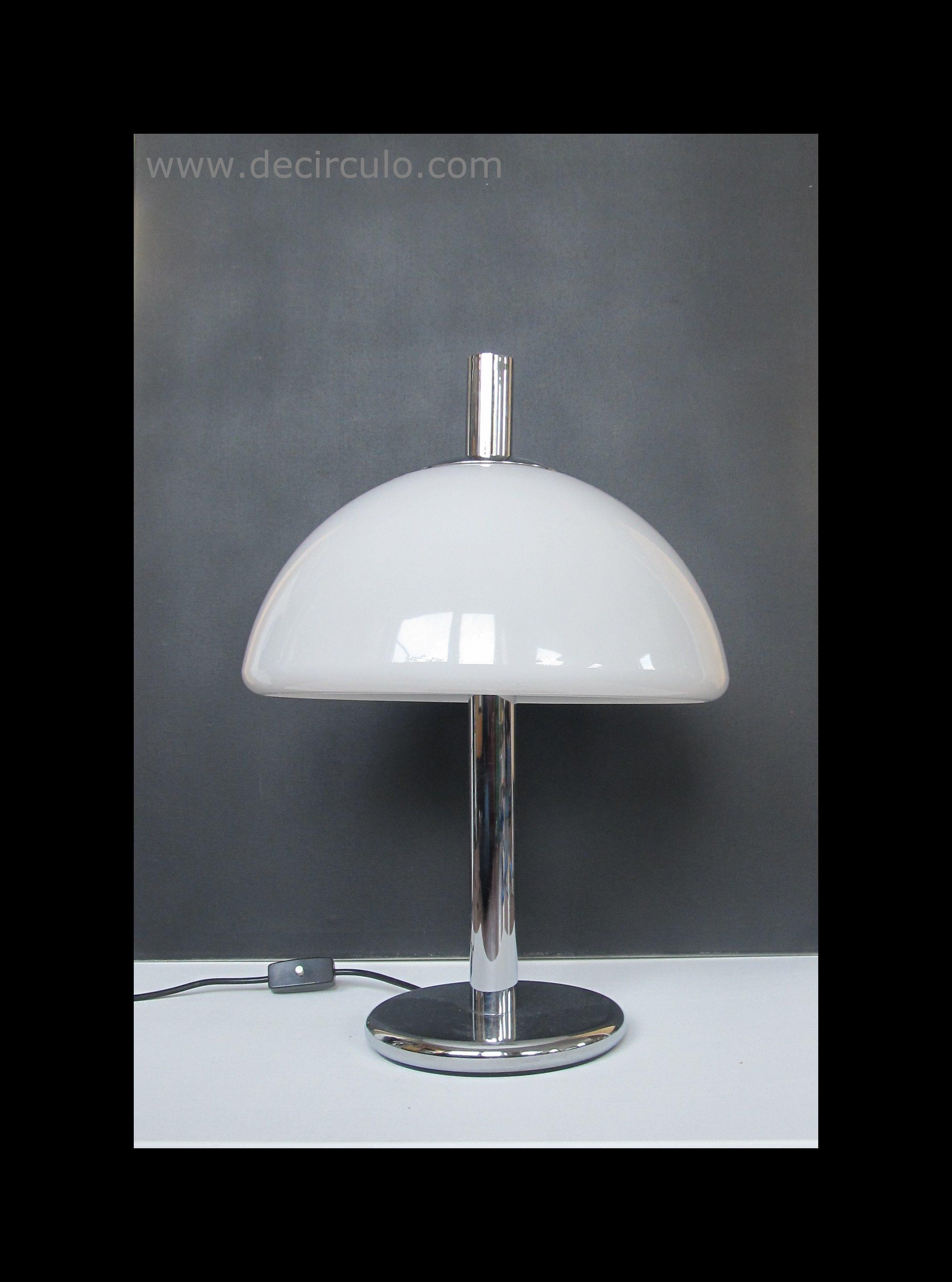 Hillebrand Desk Lamp White 2