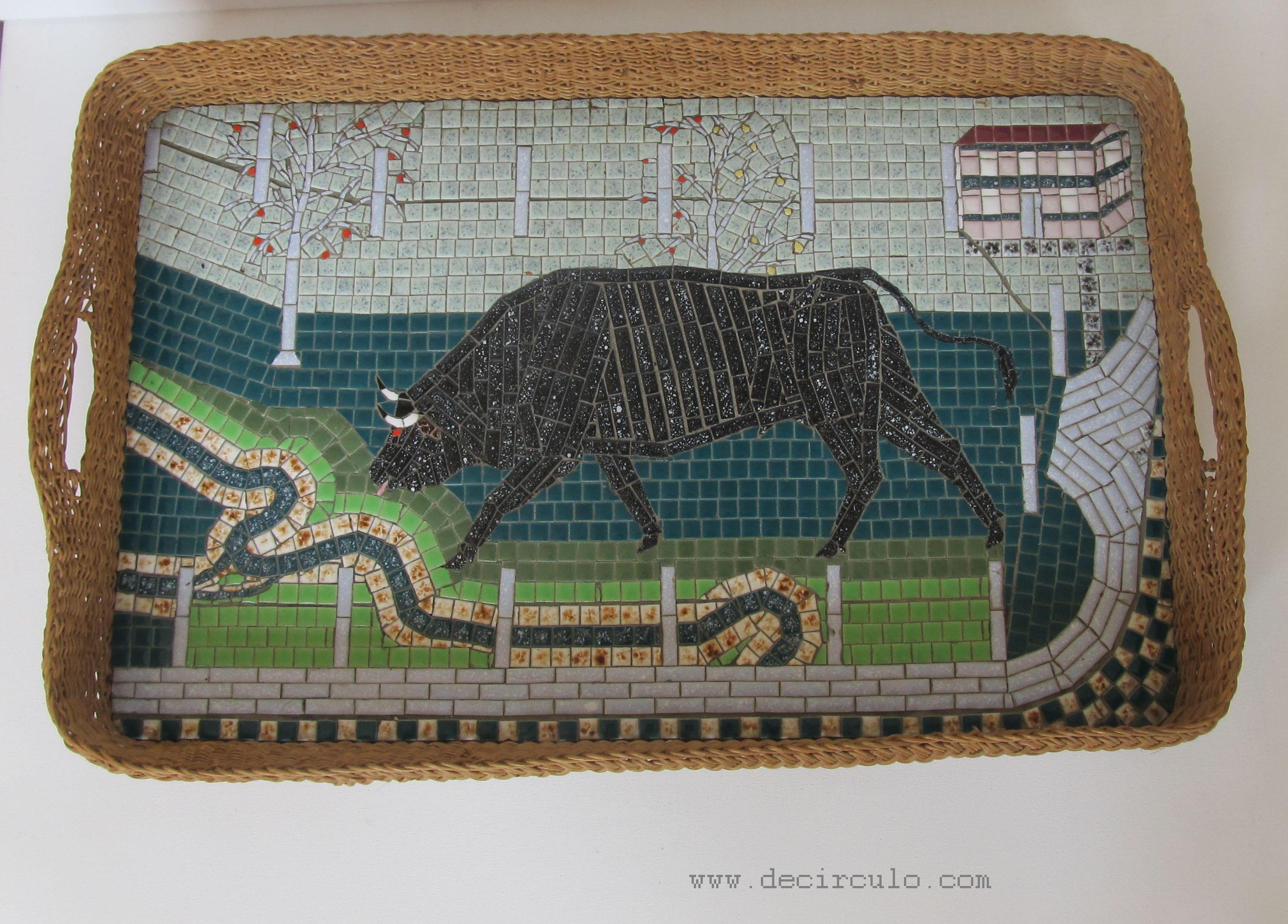 Mosaic Tray Spanish