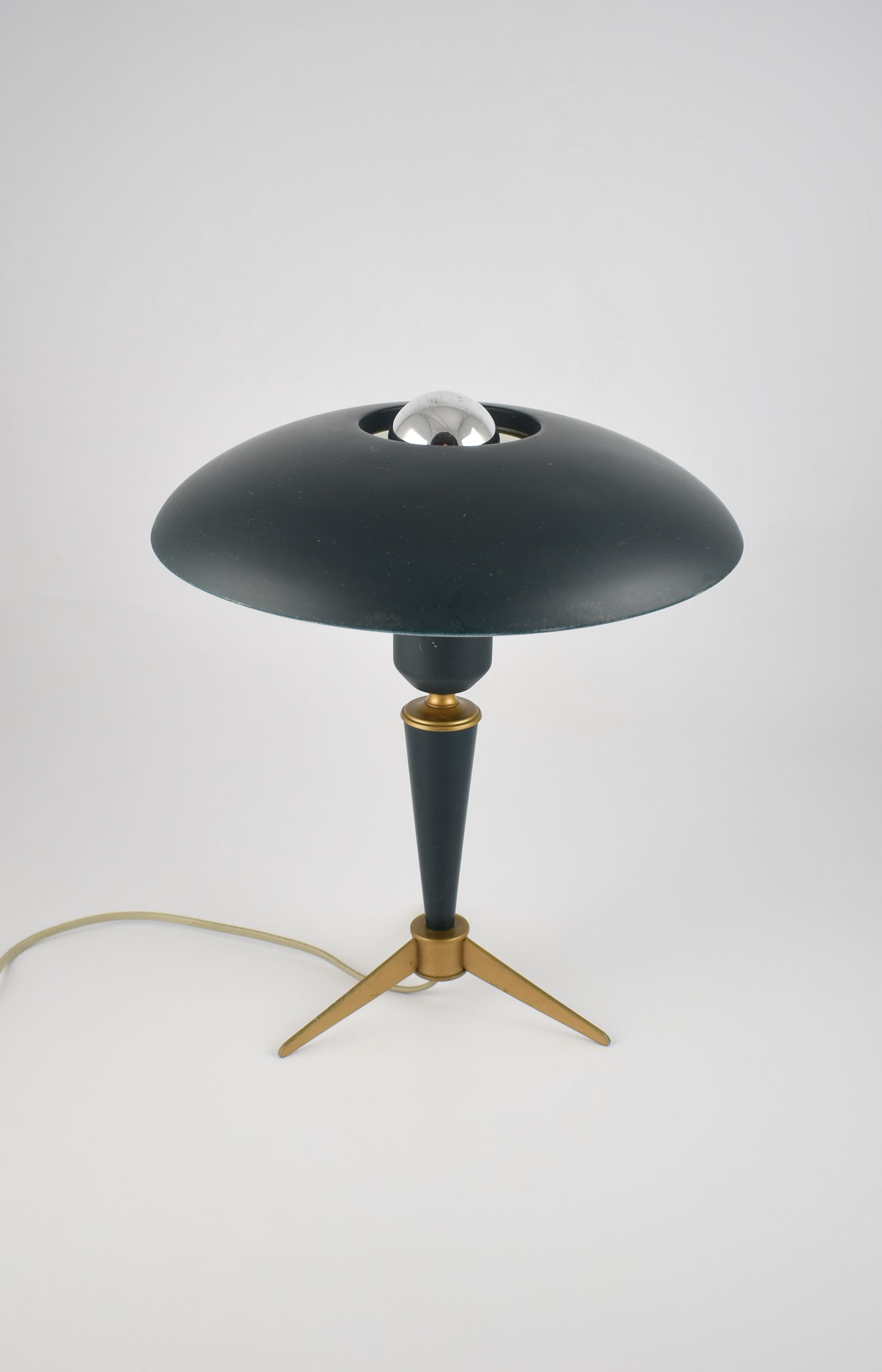 Philips Kalff Olive Green Table Lamp