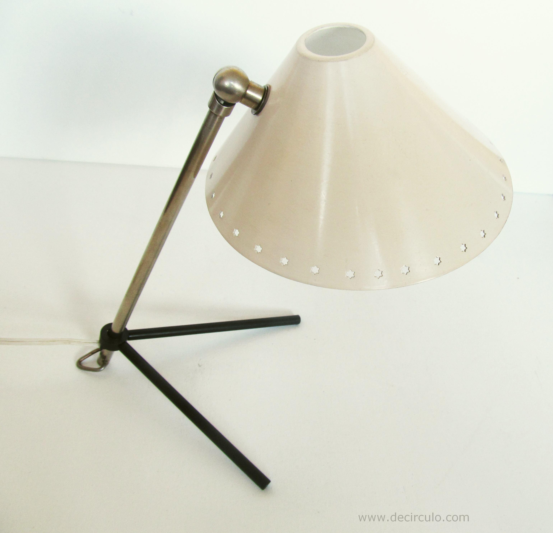 Pinocchio Pinokio White Hala Desk Lamp