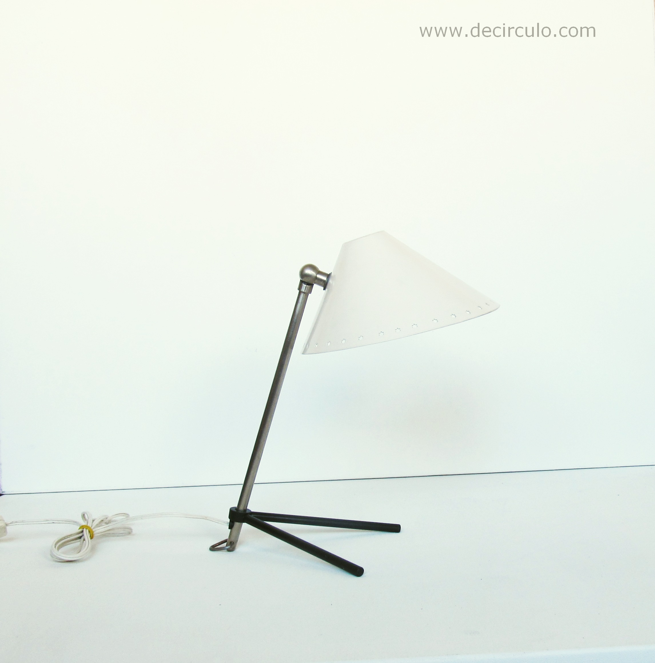 Pinocchio Pinokio White Table Lamp