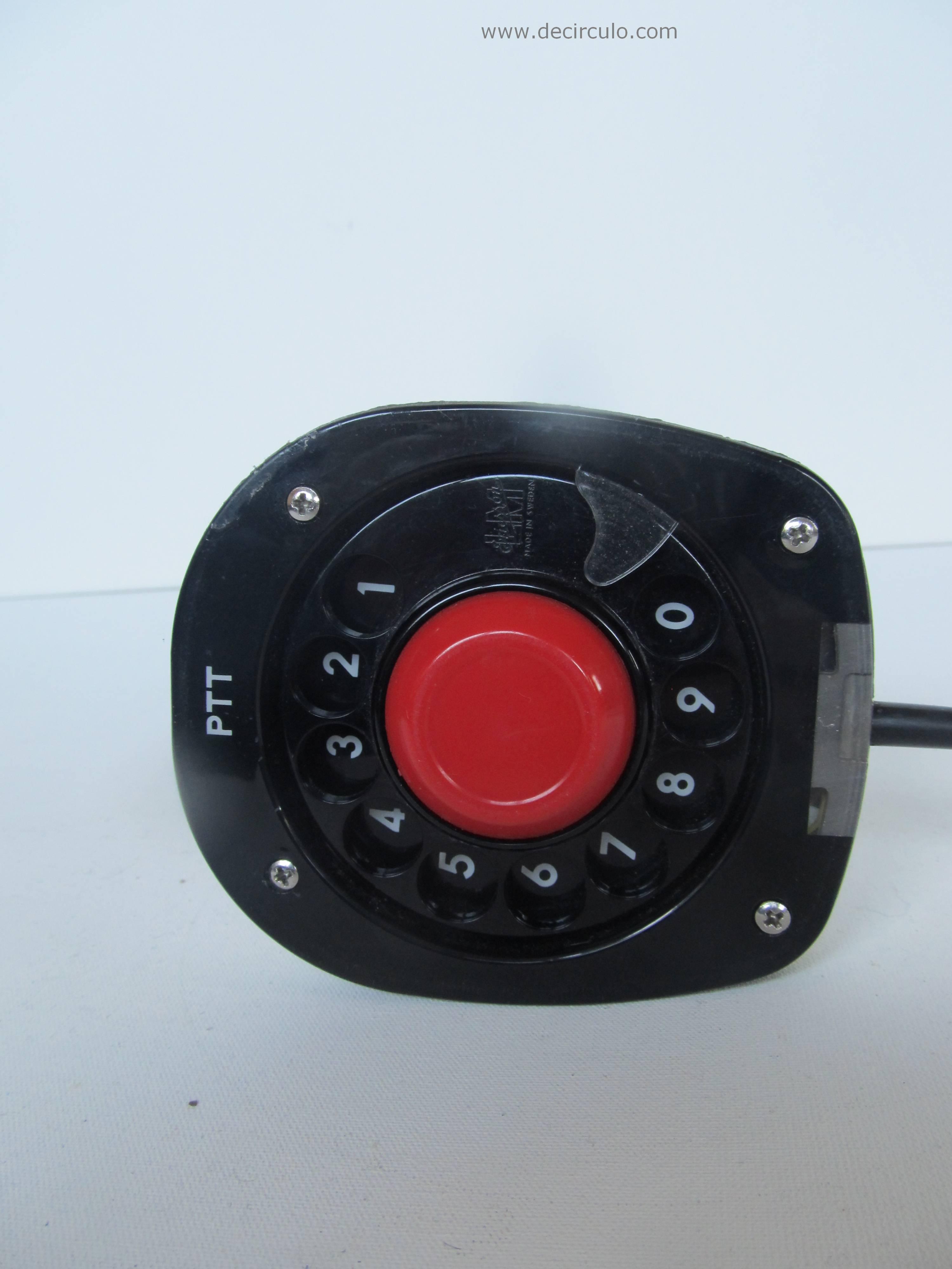 White Ericofon Sony Ericsson Telephone Vintage